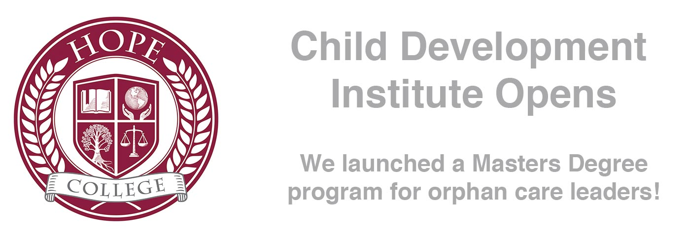 Child Development Institute at Hope College Opens